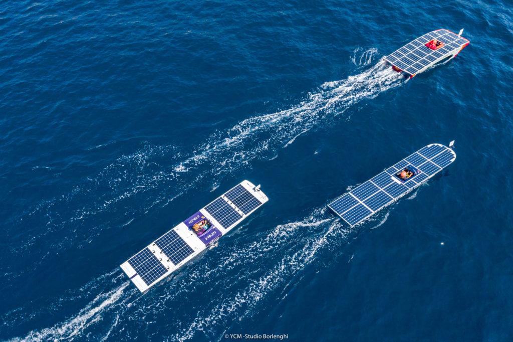 Sfida tra 3 barche a Monaco