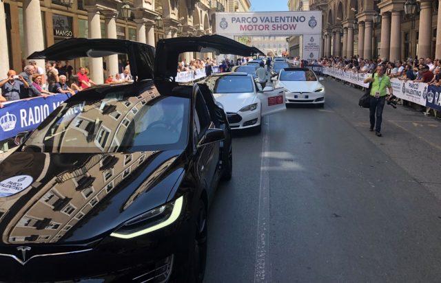 sfilata Tesla Torino