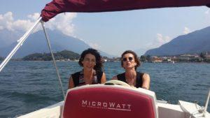 Silvia Franzetti con Mia Aimaro Ogden