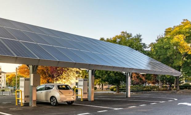 Tetto solare per auto elettrica