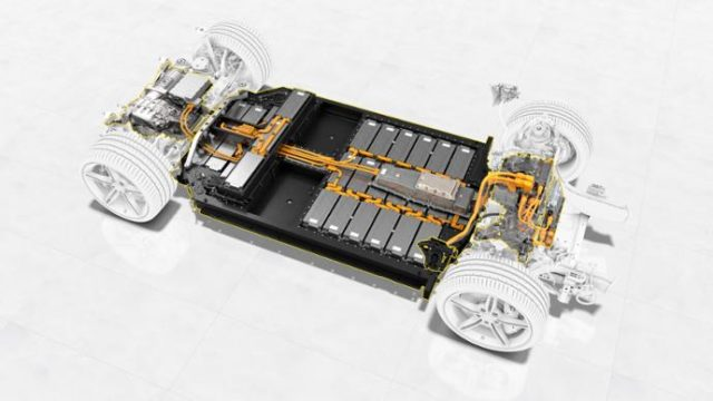 veicoli elettrici batterie