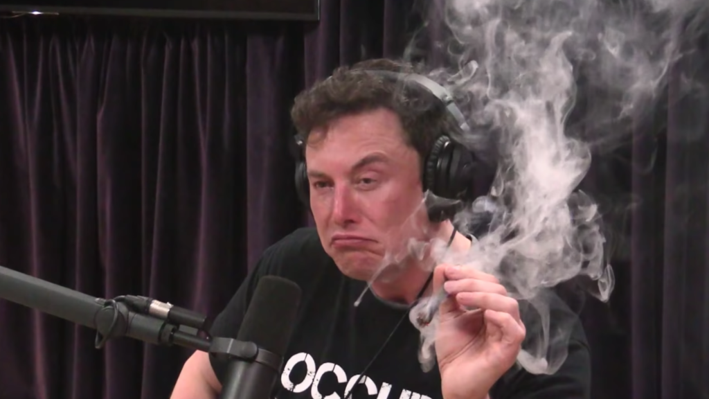 Musk marijuana
