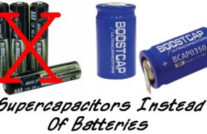 ultracondensatori, supercapacitors