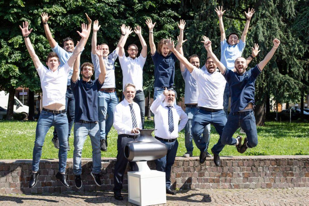 Il team della startup milanese