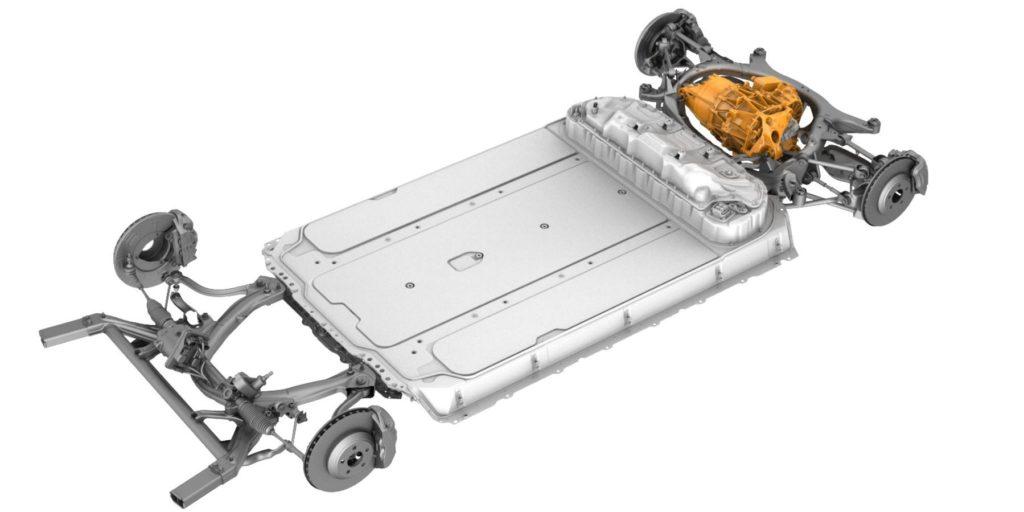Piattaforma Tesla Model 3