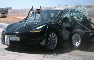 Crash test Model 3