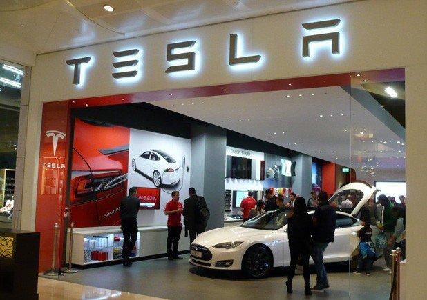 show room Tesla
