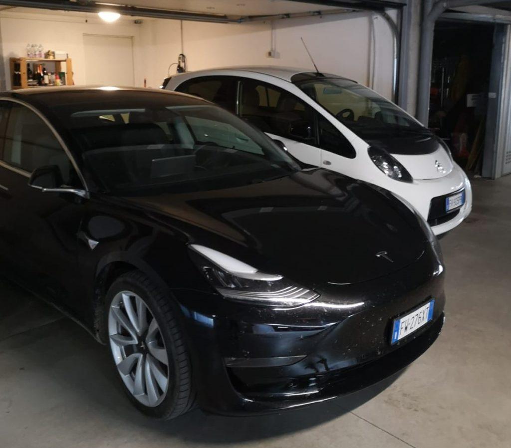 le due nuove auto elettriche di famiglia