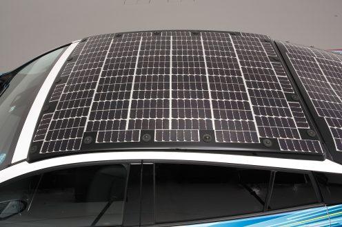 Toyota 'solare' - tetto