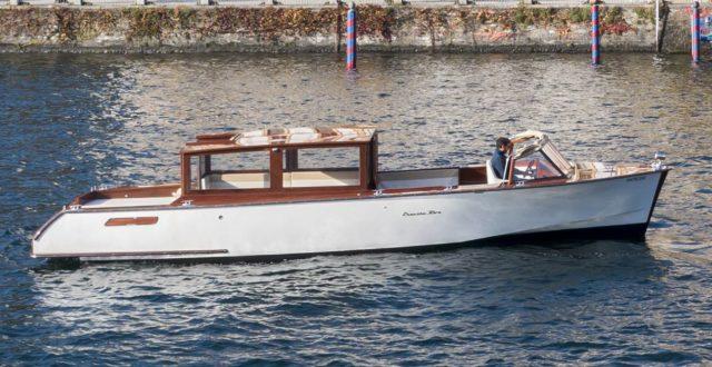 Elettra la barca elettrica dei Riva