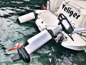 La barca in AMP di Portofino