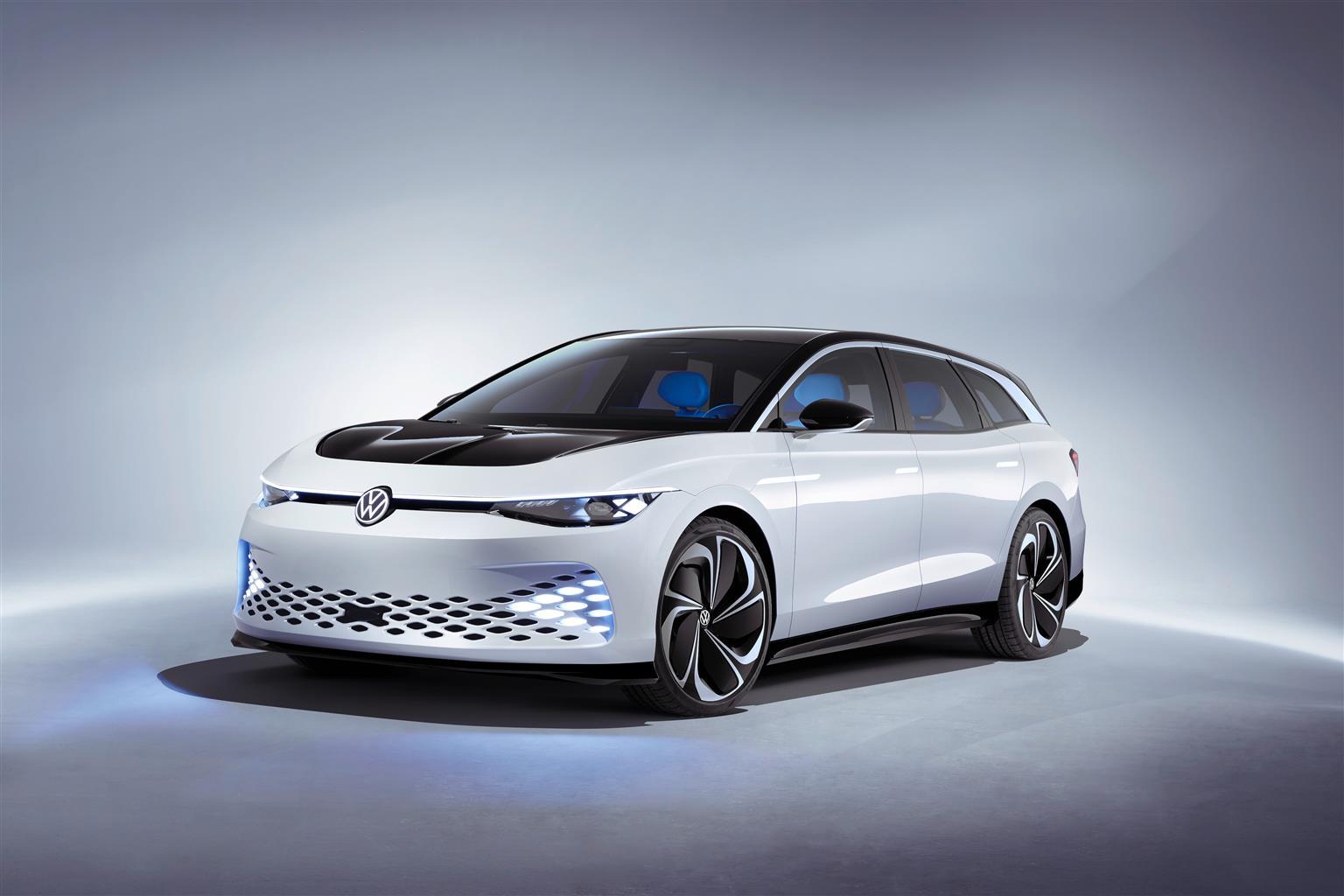 Volkswagen, anteprima mondiale per la concept car ID. SPACE VIZZION all'Autoshow LA