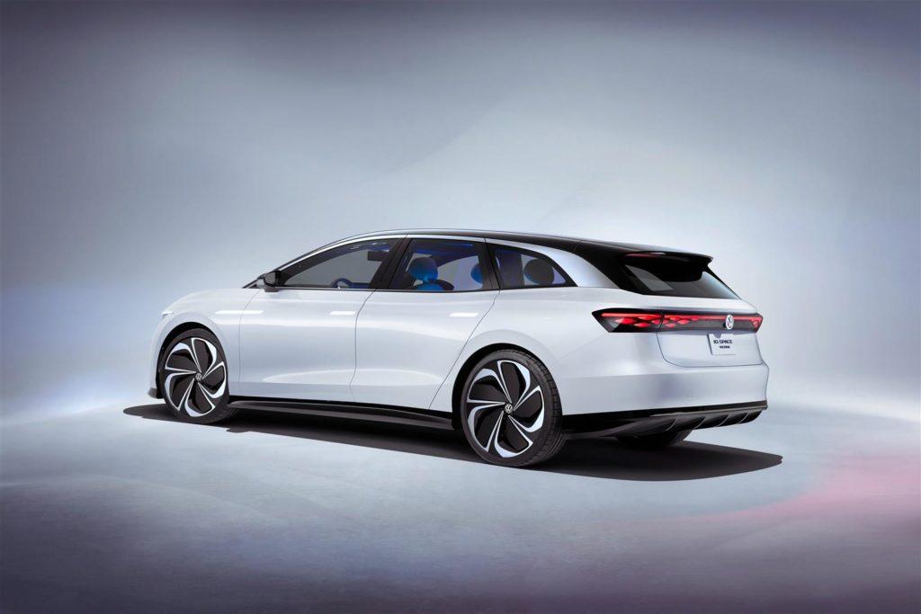 Volkswagen ID. Space Vizzion, la prima station wagon elettrica