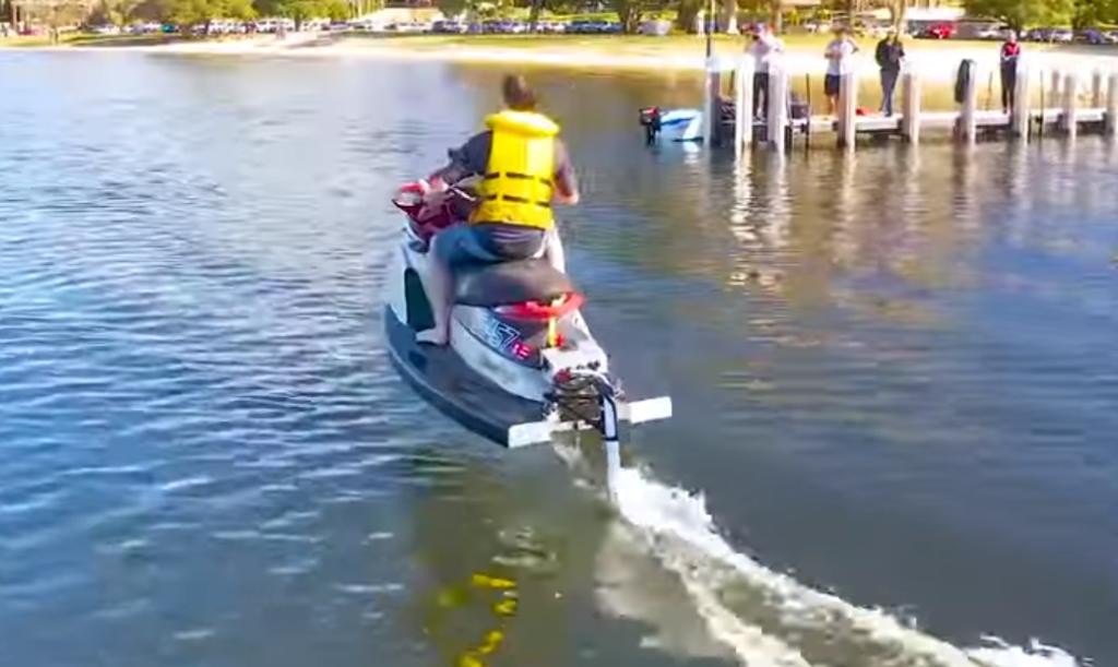 Una prova in acqua