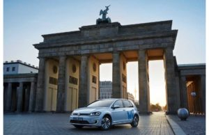 volkswagen weshare car sharing a berlino