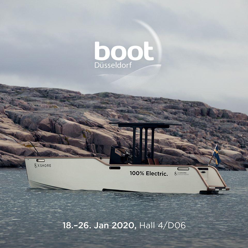 x shore barca elettrica