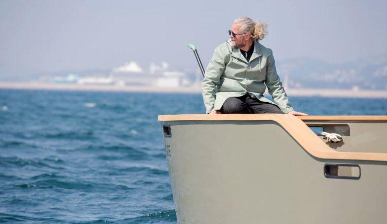 il fondatore in mare