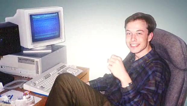 Giovane Elon Musk