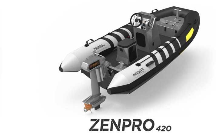 ZP-420 Naviwatt gommone elettrico