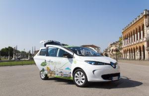 Una Renault Zoe in sharing a Padova.